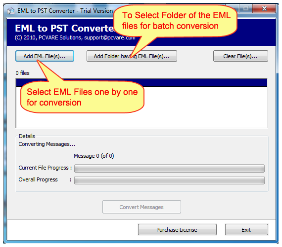 EML to PST Outlook 2013